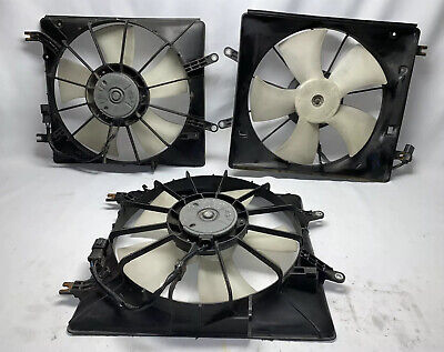 Acura TL Radiator Cooling Fan Driver Side 2004 2005 2006 2007 2008 Left OEM