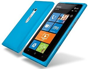 NEW Nokia Lumia 900 16GB UNLOCKED GSM WI-FI Smart Phone w/ Windows 7.5 - Cyan