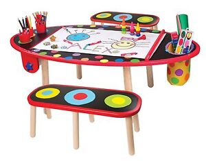 Alex young artist studio super art table w/paper roll