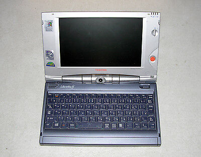 Toshiba Libretto ff1100v Intel P 266MHz 64MB Ram * PARTS/REPAIR *