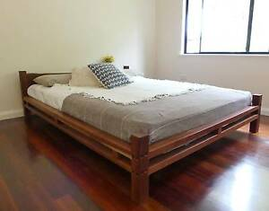 Recycled Jarrah Handcrafted Queen Bed Margaret River Area Preview