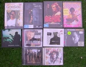 Music cd's and dvd's Croydon Maroondah Area Preview