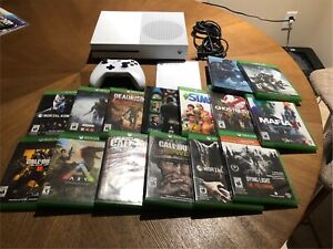 2TB XBOX ONE S CONSOLE & GAMES FOR SALE!