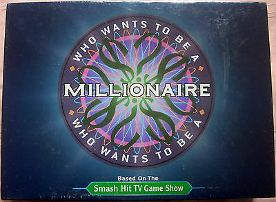 Who Wants To Be A Millionaire Board Game, 2000, Pressman, Factory Sealed