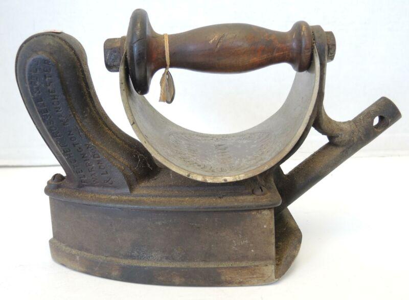 Unusual Rare Fletcher Russell & Co of Warrington, England Gas Iron