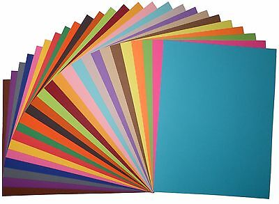 Premium Quality 8.5 x 11 CARDSTOCK PAPER - Choose Color, Quantity, corner style