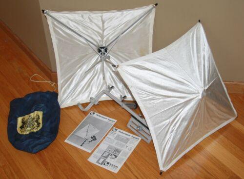 Larson Reflectasol flash bounce light reflector umbrella square LOT