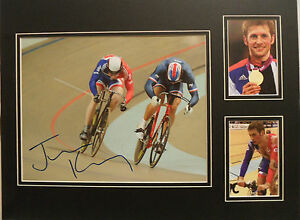 JASON-KENNY-signed-16x12-Photo-Display-OLYMPIC-GOLD-MEDAL-Cycling-Champion-COA