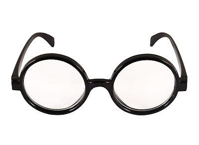 Zauberer Brille - Klar Linse Harry Potter Kostüm Retro wo Wally Geek
