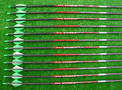 6 VICTORY VFORCE V6 CARBON  SPORT  Arrows 350 400 500 WILL CUT 1//2 DOZ
