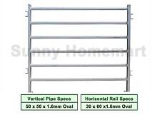 1.8Mx2.1M Cattle Horse Yard Panel Heavy Duty 2.5mm or 1.5mm Thick Derrimut Brimbank Area Preview