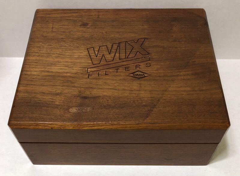 WIX Oil Filters - Havana Misto Humidor - Wix Advertising - Wood Box
