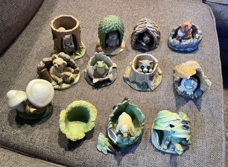 Woodland Surprises by Franlin Mint Set