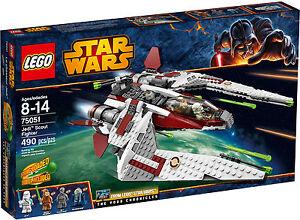 Lego Star Wars 75051 Jedi Scout Fighter Ithorian Jedi 2014 RETIRED & Rare, MISB