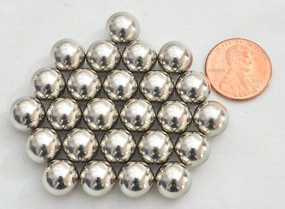 25 Pieces Spherical Round Ball Magnets 10mm Rare Earth Neodymium