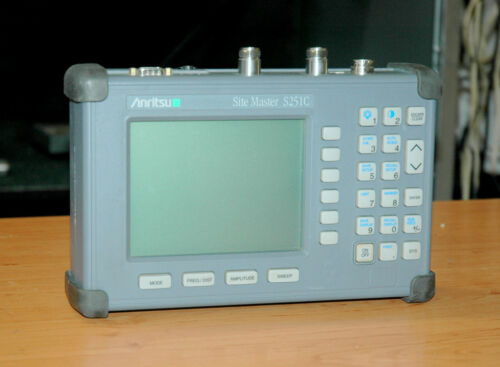 Anritsu S251C, 2- ports Cable and Antenna Analyzer, Sitemaster, 625 - 2500MHz