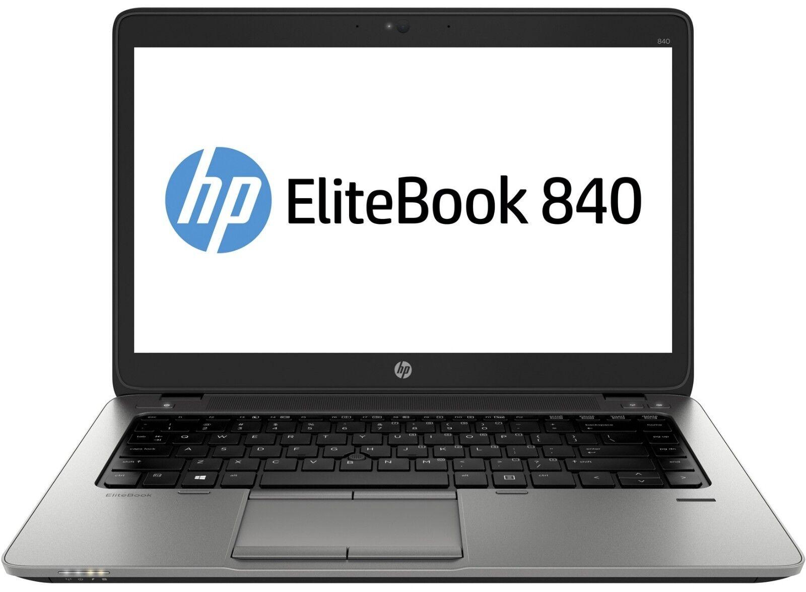 """HP 840 G2 14"""" i5-5200U 2.2GHz 8GB 240GB SSD Windows 10 Pro"""