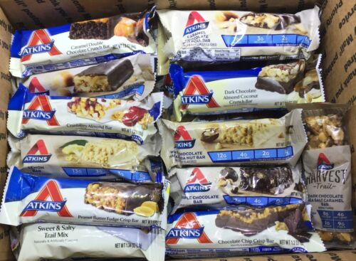 ATKINS - Snack, Trail Mix and Harvest Bars YOU CHOOSE FLAVOR/ QUANTITY