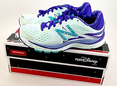 NEW Run Disney 2017 New Balance Mad Tea Party Girls Running Shoes Kids Size