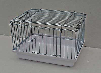 Vogelbadehaus , Badehaus für innen und außen  25 x 19 x 16 cm mit Tür