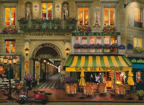 """Jigsaw Puzzle 500 Pieces Gold Edition """"Paris Gallery"""" by Wuundentoy"""