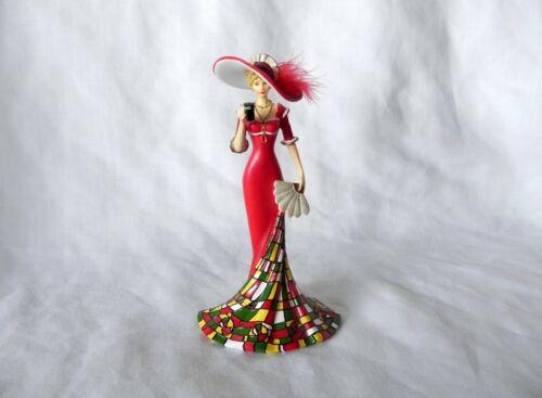 Timelessly Refreshing Elegant Woman Figurine REFRESHMENT OF COCA-COLA Hamilton