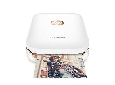 - HP Sprocket X7N07A Printer White, Brand New, Free Fast Shipping!