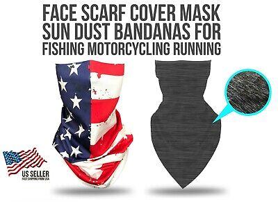 Face Mask Bandana Head Wrap Scarf Cover Headband Tube Neck Outdoors Motorcycle