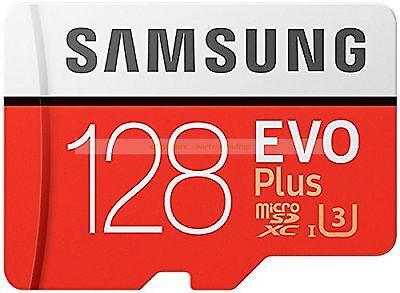 Samsung MicroSDXC 128GB EVO Plus 100MB/s Read 90MB/s Write Memory Card New ct UK