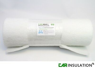 Car Parts - 2m Acoustic ABSoft 25mm Polyester Non Woven Car Insulation Thermo Fleece Boat UK
