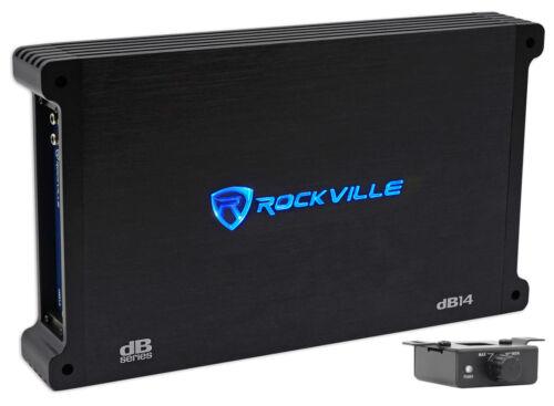 Rockville dB14 4000 Watt/2000w RMS Mono Class D 2 Ohm Amplif