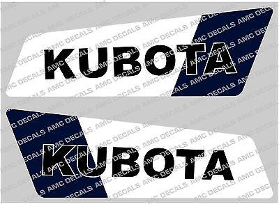 Kubota Mini Digger Boom Decals