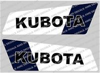 Kubota Mini Digger Decalcomanie Di Boom -  - ebay.it