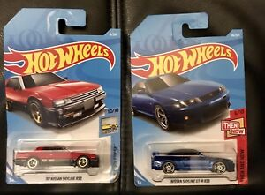 Nissan Skyline R30 and GT-R R33 Hot Wheels, New In Packaging