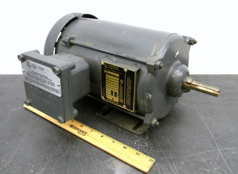 Baldor M7007A Explosion Proof Motor 1/2 Hp 1140 Rpm 3-ph Used