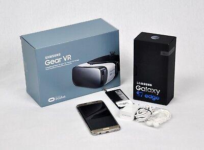 Samsung Galaxy S7 edge SM-G935A 32GB Unlocked GSM Smartphone w/...