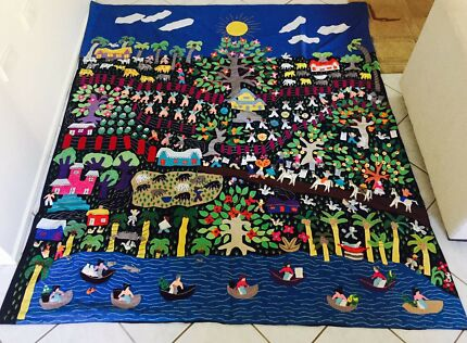 Hand made tapestry