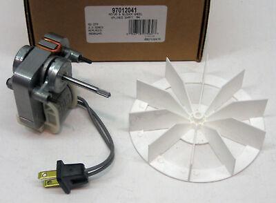 97012041 Broan Nutone Bathroom Vent Fan Motor Wheel 50 Cfm Repl. 99080245