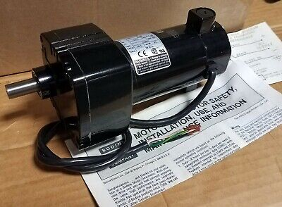 New Bodine Gear Motor 24a4bepm-d3 130 Volt Dc 117 Hp 301 Ratio Last One