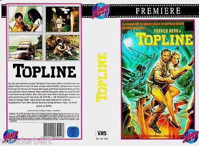 VHS -- TOPLINE - Der Aztekenschatz -- (1988) - Franco Nero - George Kennedy