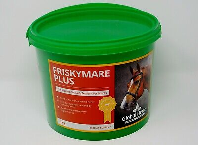 Global Herbs Frisky Mare Plus 1kg - Free P&P Horse Supplement