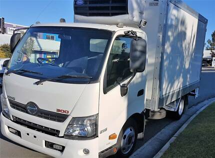 2011 Hino 300 Series 616 Auto Refrigerated Pantech One Owner