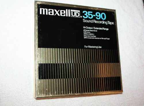 Maxell UD 35-90 Sound Recording Blank Reel to Reel Tape *New Open Box