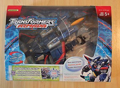 Transformers Armada Thundercracker with Zapmaster Maxcon Assortment New