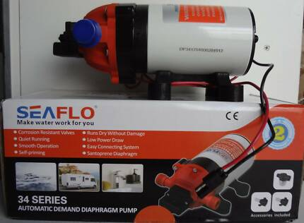 12V Pump - 4Lph - 70PSI - 3/8 Inch Barb - (Free Delivery*)