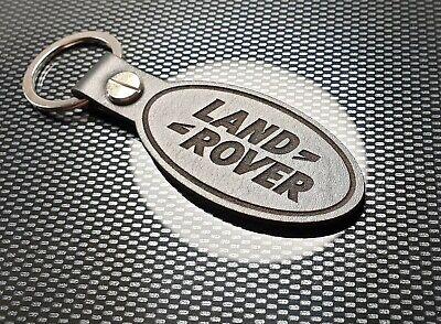 Land Rover Llavero de Piel Insignia Defender Discovery Freelander Taxi Doble TD5