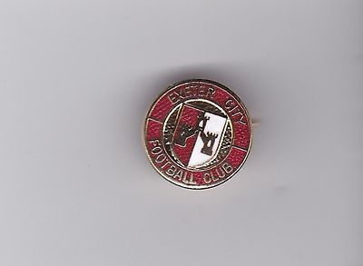 Exeter City - lapel badge brococh fitting