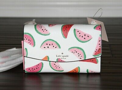 💚 KATE SPADE Laurel Way Winni Crossbody Bag Purse Clutch Handbag Watermelon NWT