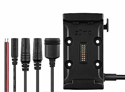 Garmin zumo 590LM Motorcycle Mount Kit with Power Cables Bundle 010-12110-00