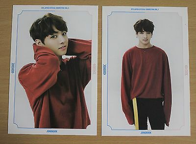 BTS Bangtan Boys JUNGKOOK Japan Fanmeeting Vol.3 official postcard set of 2